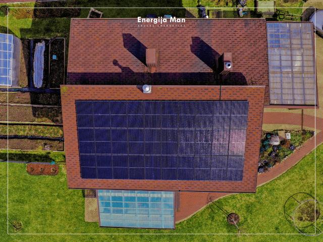 10 kWp saulės elektrinė