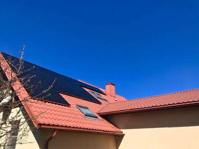 8 kWp saulės elektrinė