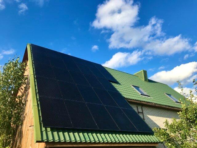 9 kWp saulės elektrinė