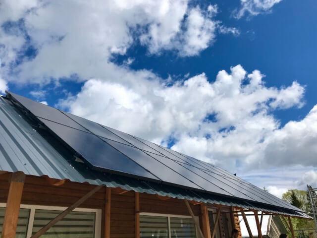 5 kWp saulės elektrinė