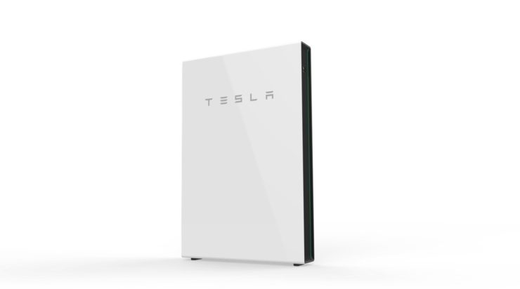 Tesla saules baterija