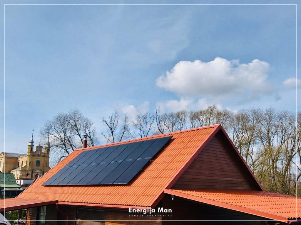 5 kW saulės elektrinės kaina