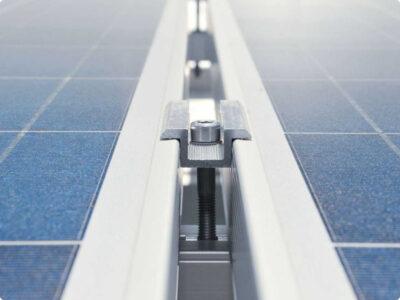 Profiness konstrukcijos saules elektrinei
